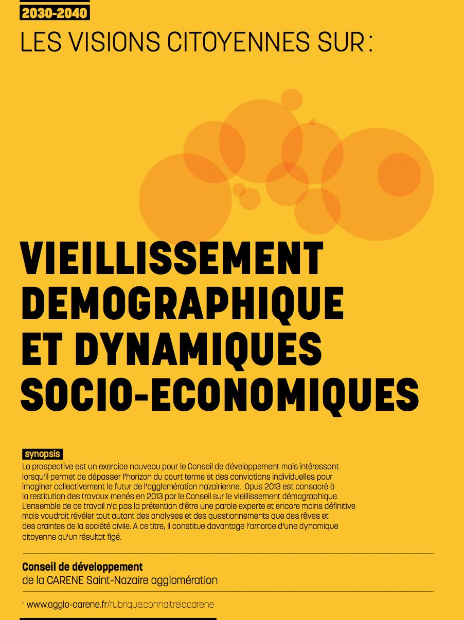 Opus 2013 - Vieillisement démographique